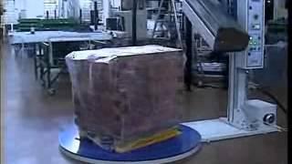 Ημιαυτόματη μηχανή θερμοσυρρίκνωσης παλετών